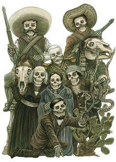 Personajes de la historia de MÉXICO