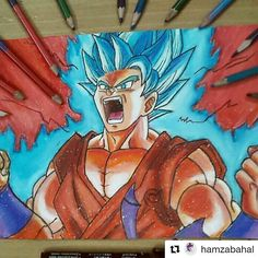 . .  #dragonballsuper #dragonballz #songoku #goku #Draw #Drawing #Art #Fanart #Artist #Illustration #Design #sketch #doodle #tattoo #Arthelp #Anime #Manga #Otaku #Gamer #Nerdy #Nerd #Comic #Geek #Geeky . . Geek drawings gallery.  Use #ArtForGeeks for a chance to be featured  Artist credit