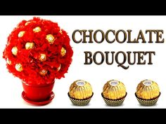 15 Ideas For Chocolate Bouquet Easy Chocolate Bouquet Diy, Chocolate Tree, Chocolate Flowers, Chocolate Gifts, Gift Card Bouquet, Candy Bouquet Diy, Diy Bouquet, Cheesecake Mousse Recipe, Chocolate Mousse Cheesecake