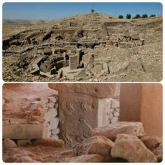 """Göbekli Tepe is found approximately 16 km (10 miles) northeast of Şanlıurfa, an ancientcityin southeasternTurkey once named """"Edessa"""" and known as """"the City of the Prophets"""". The site is the oldest man-made place of worship yet discovered, dating back to 10,000 BCE. The temples were discovered by a German archaeologist (Klaus Schmidt) who had previously worked on the Nevalı Çori site and dig, which is now known to be predated by Göbekli Tepe. (Info by Ronnie Jones III) -- AHE"""