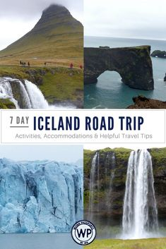 Road trip travel guide to Iceland: Sample 7 day itinerary, advice, and recommendations from real travelers. Learn the best things to do in Iceland including Reykjavík, waterfalls, hot springs, glaciers, geysers, volcanoes, as well as the best places to stay in Iceland. | wornpassports.com