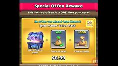 Clash of Clan - Arena 5 Super Magical Chest (Spell Valley Value Pack)