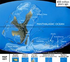 Great reference, used when teaching Geologic Time, helps students to see the changes the continents have undergone.