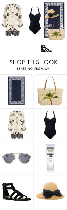 """beach namjoon"" by spam-653 ❤ liked on Polyvore featuring Williams-Sonoma, Style & Co., Dorothy Perkins, 3.1 Phillip Lim, Neutrogena and Nine West"