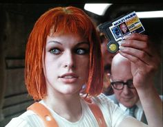 Milla Jovovich in the 'Fifth Element'...