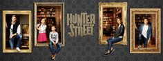 Stony Blyden, Maemae Renfrow, Daan Creyghton, Thomas Jansen, and Kyra Isako Smith in Hunter Street Hunter Street, Episodes Series, Usa Website, Star Character, The Cw Shows, New Sibling, Street Smart, Family Adventure