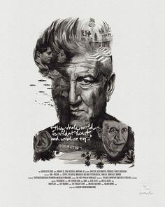 Movie Director Portrait: David Lynch by Stellavie & Julian Rentzsch