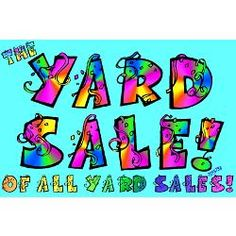 yardsale signs