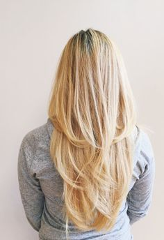 V Schnitt für Lange Haare für Haare Lange Schnitt