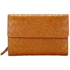Collection WEEKEND by John Lewis Rosa Weave Leather Coin Purse , Tan ($56) ❤ liked on Polyvore featuring bags, wallets, tan, coin purse, tan leather wallet, leather change purse, leather coin pouch and genuine leather wallet