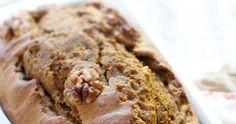 Best gluten-free pumpkin bread recipe we've baked. Makes one big gorgeous loaf.