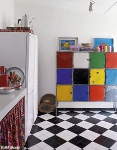 Senegalese holiday home - kitchen