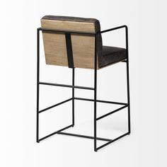 Leather Counter Stools, Counter Bar Stools, Dining Stools, Bar Chairs, Counter Height Chairs, White Counters, Mirror Wall Art, Bar Seating, Engineered Wood
