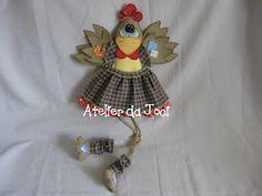 ARTESANATO COM QUIANE - Paps,Moldes,E.V.A,Feltro,Costuras,Fofuchas 3D: Molde galinha de e.v.a