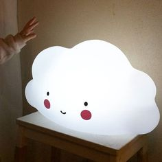 mommo design: LOVELY CLOUDS - cloud table light