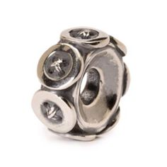 Authentic Trollbeads 11441 Buttons Sterling Silver Bead for sale online Silver Charms, Silver Beads, Silver Rings, Jewelry Accessories, Jewelry Design, Jewelry Box, Beads Online, Pandora Beads, Silver Buttons
