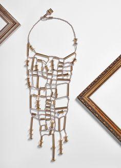 #loranikolova #bijoux&art #golden #necklace #colors #art #madeinitaly Necklaces, Bracelets, Cool Designs, Jewelry Making, Golden Necklace, Jewelry Ideas, Handmade, Colors, Art