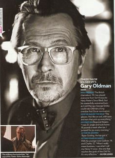 Gary Oldman. SO under-rated!