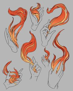 Because of all the support. Here are more comic Flames!