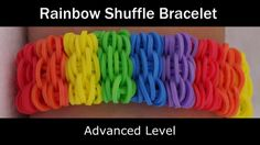 Rainbow Loom® Rainbow Shuffle Bracelet