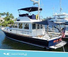 Just listed: Grand Banks 43 Flybridge, Vero Beach, FL. $395,000.