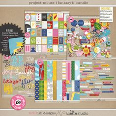 Project Mouse (Fantasy) Bundle by Britt-ish Designs, Must have for my collection!