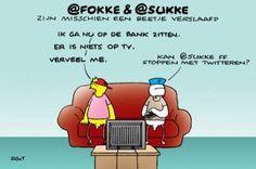 Fokke & Sukke: Social Media/Twitter