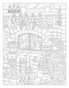 Раскраски, Зентангл и Дудлинг - это весело! | VK Summer Coloring Pages, Coloring Book Pages, Doodle Coloring, Free Coloring, Mandala Coloring, Christmas Coloring Sheets, Printable Adult Coloring Pages, Colorful Drawings, Christmas Colors