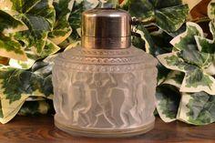 Lalique Crystal 1930's Enfants Gas Lamp R Lalique