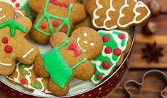 Χριστουγεννιάτικα μπισκότα Gingerbread (με τζίντζερ)
