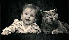 """Résultat de recherche d'images pour """"photo de chat et enfant"""""""