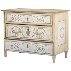 Biedermeier Period Neoclassical Chest of Drawers, Germany circa 1830 | From a unique collection of antique and modern commodes and chests of drawers at https://www.1stdibs.com/furniture/storage-case-pieces/commodes-chests-of-drawers/