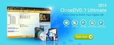 CloneDVD official site - Best DVD Copy & Clone Software, Copy DVD Movie to DVDR, rip DVD to AVI, MP4, iPhone, iPad, Galaxy etc.