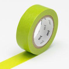 MT Wakanae Yellow Green Washi Tape from Fox and Star