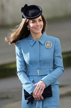 Kate dazzles in recycled Alexander McQueen coat for Air Cadets anniversary - Picture 2
