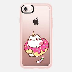 Casetify iPhone 7 Classic Grip Case - Donut Caticorn by Mint Corner