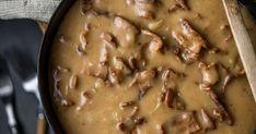 Kunnon vanhanajan läskisoosia Parmesan Sauce, Mustard, Turkey, Beef, Chicken, Koti, Desserts, Recipes, Food Food