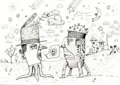 THE CONVERSATION by John Dinser by TheArtofJohnDinser on Etsy, $45.00