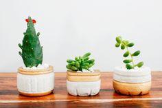 DIY: Vasinho ou cachepô de concreto | blog Encantada