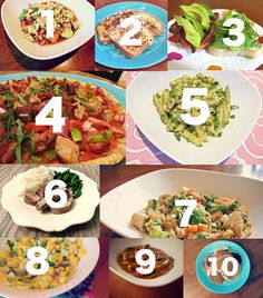 Top Ten Gluten free and dairy free recipes! Pizza, pasta, soup, rice, roast, stew!