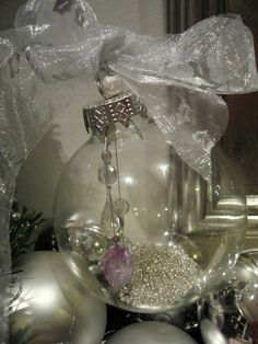 Make a gorgeous keepsake bauble - see here for instructions  http://leecarolineart.blogspot.com/2011/12/how-to-make-keepsake-christmas-tree.html