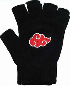 Relaxcos Naruto Logo Gloves Cosplay * Read more at the image link.