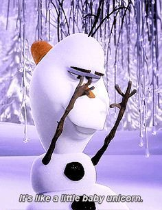 Day Favorite original character: Olaf I almost put Elsa, but she's technically based on the Snow Queen. Olaf is adorable and funny, caring and loyal. Disney Sidekicks, Disney Films, Disney And Dreamworks, Disney Pixar, Walt Disney, Disney Characters, Funny Olaf Quotes, Disney Quotes, Olaf Funny