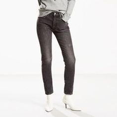 Levi's® Altered epitomizes our approach to remastering classic designs in a range of essential, authentic finishes. This season, we've deconstructed and altered our most coveted styles to create one-of-a-kind pieces. We began with the 501® Skinny — a timeless Levi's® style, redesigned and remastered. This is the world's most coveted jean, customized with a slimmer leg that's cropped to a perfect, versatile length. Building upon our iconic 501®, it's a re-interpretation...