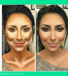 the power of contouring http://crazymakeupideas.com/6-simple-steps-to-wash-your-hair-with-shampoo/