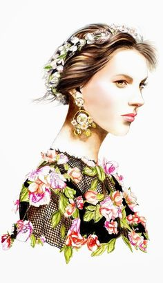 Dolce & Gabbana SS 2014, by by Lidia Luna