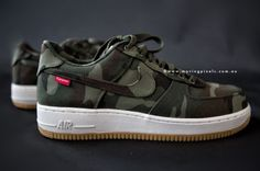 Supreme x Nike Air Force 1 Low Camo. those really arent too bad