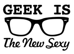 i love geeks.they really are super sexy! (and i have perscription nerd glasses.so guess what that makes me? The Words, Archie Comics, Geek Chic, Fandoms, Geeks, Engineer Humor, Geek House, Geek Stuff, Cool Graphic Tees