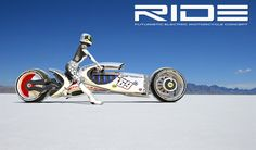 RIDE electric Motorcycle concept - Luxology  Gallery