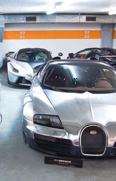 Bugatti Veyron Grand Sport, Ferrari Laferrari and Lamborghini Veneno Roadster - https://www.luxury.guugles.com/bugatti-veyron-grand-sport-ferrari-laferrari-and-lamborghini-veneno-roadster/